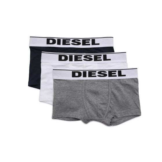 Three-Pack Of Trunks With Logo