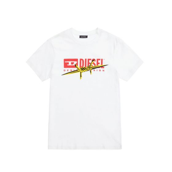 Teen White Logo T-Shirt