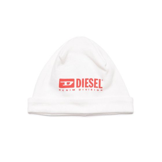 White Cap With Diesel Logo