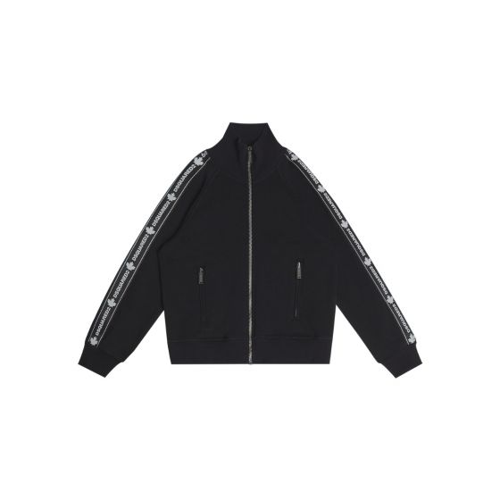 Black Tape Track Jacket