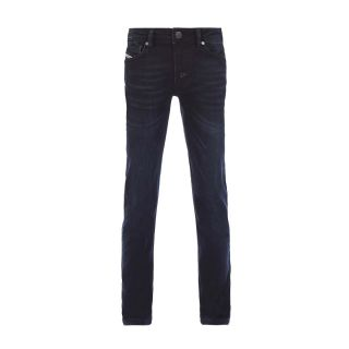 Waykee-J-N Pantaloni Dark Blue Jeans For Boys