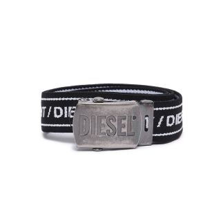 Black Logo Buckle Belt