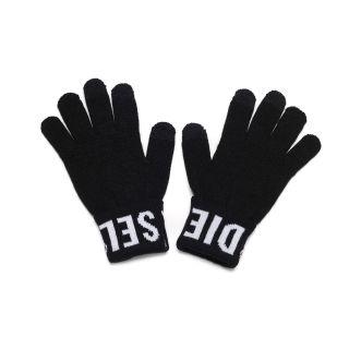 Winter Gloves With Diesel Logo