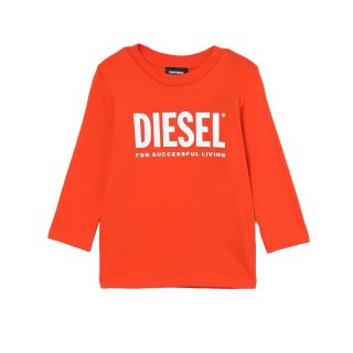 Long Sleeve Unisex T-shirt With Diesel For Successful Living logo