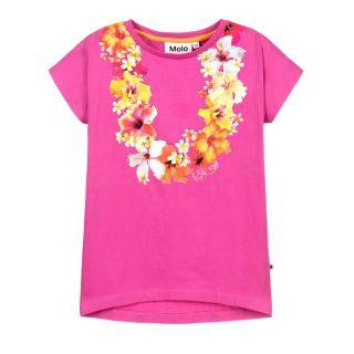 Pink Hawaii Flower T-Shirt