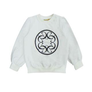 Girls Logo Print Sweatshirt
