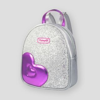Glittery Backpack With A Heart