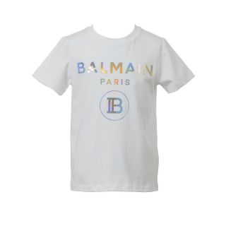 Holographic Logo Print T-shirt