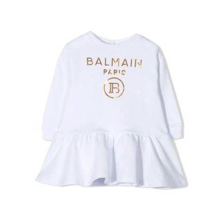Logo Skater Dress For Baby