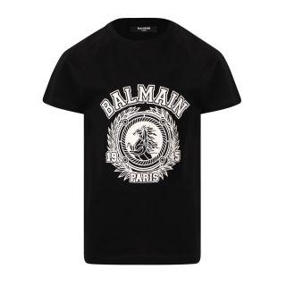 Black Logo Horse T-Shirt