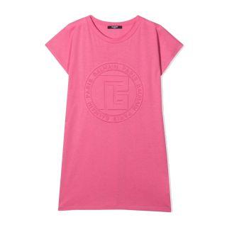 Logo-Embossed T-shirt Dress