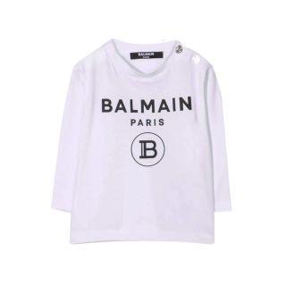 Logo Print Long-Sleeved T-shirt