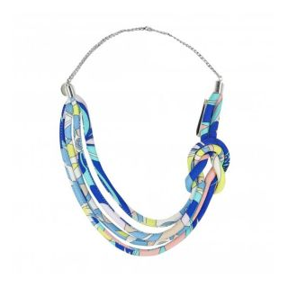 Girls Multi Coloured Printed Necklace