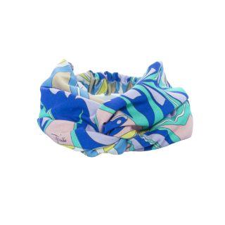 Printed Cotton Jersey Headband
