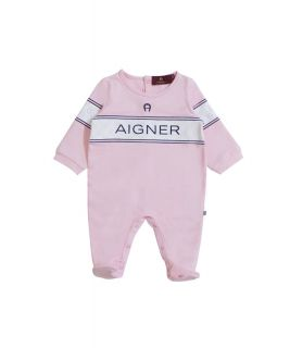 Pink Pima Cotton Babygrow