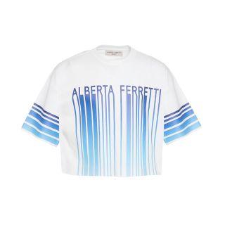 Logo Print Cotton Jersey T-Shirt