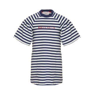 Breton Stripe T-shirt Dress