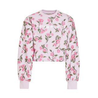 Floral Print Sweatshirt