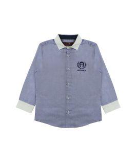 Boys Blue Logo Shirt