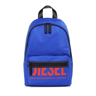 Navy Blue Backpack With Logo
