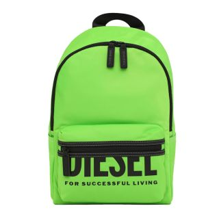 Neon Green Backpack With Logo