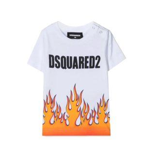 Baby Flame Print T-shirt