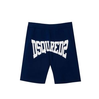 D2Kids Navy Blue Boxer Logo Shorts