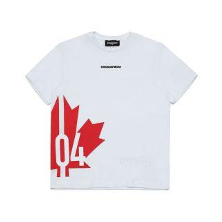 D2Kids Sport Edtn. 04 Flag Unisex T - Shirt - White