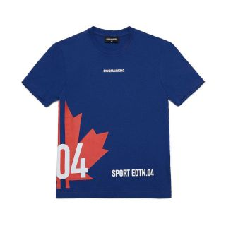 D2Kids Sport Edtn. 04 Flag Unisex T - Shirt - Blue
