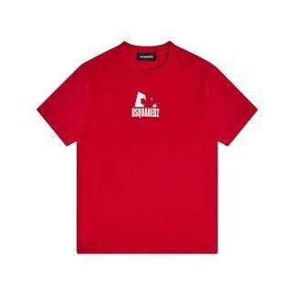 D2KIds Shadow Leaf Unisex T-Shirt - Red