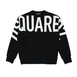Bold Logo Unisex Black Sweatshirt