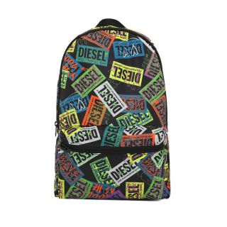 Foldable Backpack With All-Over Graphic
