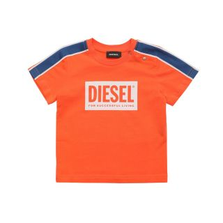 T-shirt With Logo And Knit Tape