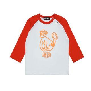 Monkey Print Unisex T-shirt For Baby