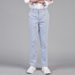 Classic Elegant Linen Trousers