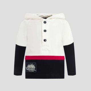 Hooded Footer Sweatshirt