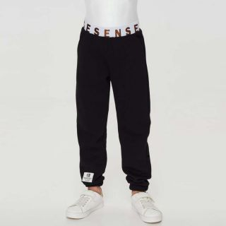 Footer Black Trousers