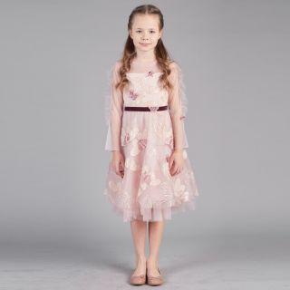 Volume Skirt Frills Decorated Dress
