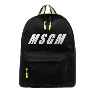 Black Logo Backpack (38cm)