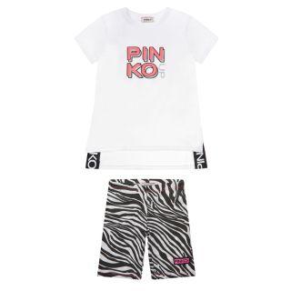 Logo Print T-shirt And Short Set