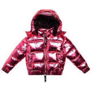 Girls Pink Down Jacket