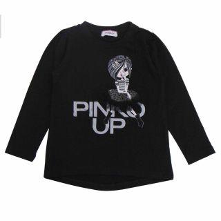 Baby Girls Pinko Up Black T-shirt