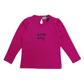 Baby Girl Pink Full Sleeve T-shirt