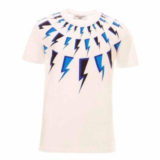 Boys Thunderbolt Print T-shirt
