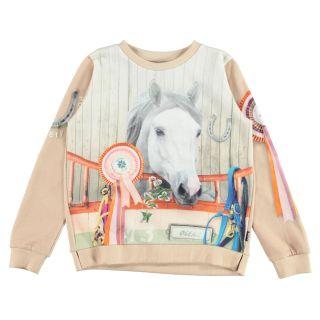 Girls Marlee Pony Society Sweatshirt
