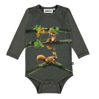 Foss Baby Squirrel Romper