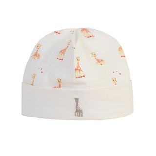 All Over Printed Girafe Ivory Cap