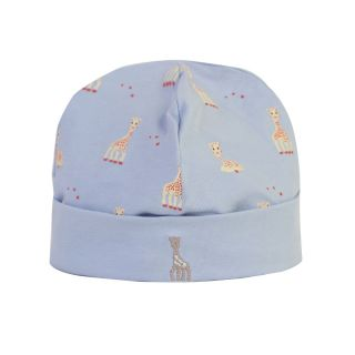 Girafe Printed Blue Cap