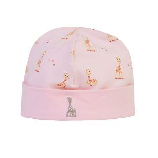 Girafe Printed Pink Cap
