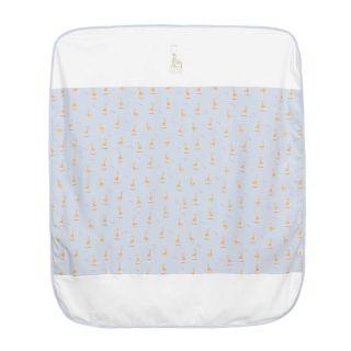 Blue Cotton Blanket (88cm)